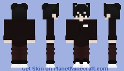 Runichi's Brown clothed Tribute skin Minecraft Skin