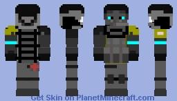 Area-32 Outside  Security guard Lieutenant- Minecraft Skin
