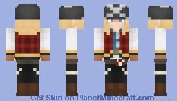 Axl Low | Guilty Gear Strive Minecraft Skin