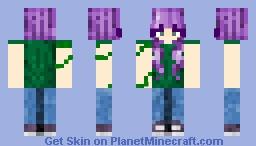 𝕍𝕚𝕟𝕖𝕤 𝕠𝕗 𝕃𝕒𝕧𝕖𝕟𝕕𝕖𝕣 Minecraft Skin
