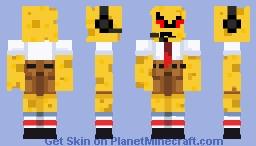 Evil spongebob Minecraft Skin