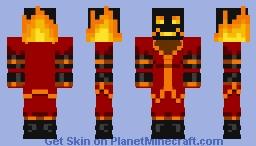 Xan 2.0 Minecraft Skin
