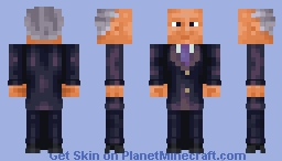 F.D.Roosewelt (WW2,roleplay skin) Minecraft Skin