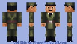 Charles De Gaulle (WW2 roleplay skin) Minecraft Skin