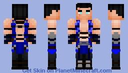 Sub-Zero v2 (Mortal Kombat) Minecraft Skin