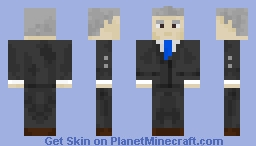 Joe Biden - President of the United States Minecraft Skin