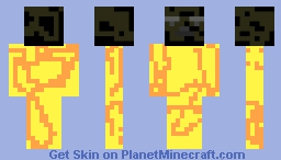 burning flame hero Minecraft Skin