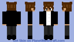 Never gonna give you up Minecraft Skin
