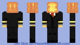 A golden boi Minecraft Skin