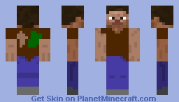 Steve modificado / Modified Steve Minecraft Skin