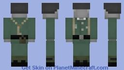 Lieutenant Iron Minecraft Skin