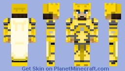 Aurum Knight- Element 79 Gold Minecraft Skin