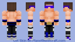 Johnny Cage v2 (Mortal Kombat) Minecraft Skin