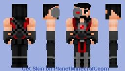 Kano v2 (Mortal Kombat) Minecraft Skin