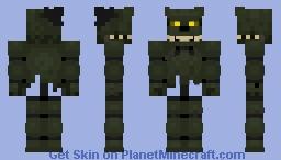 Dreadbear 《Fnaf VR Curse Of Dreadbear》 Minecraft Skin
