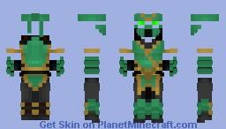 Chameleon (Mortal Kombat) Minecraft Skin