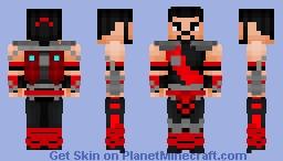 Sektor v2 (Mortal Kombat) Minecraft Skin