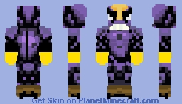 The Maxx From The Maxx Animated Series Minecraft Skin