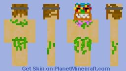 Tiki islander Minecraft Skin