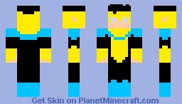 Invincible/Mark Grayson v3 Minecraft Skin