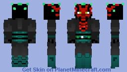 Darth Maul Minecraft Skin