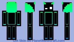 Gradient Cartoon Guy #2 Minecraft Skin