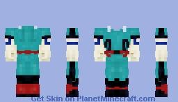 Deku Suit V.2 - Boku no Hero Minecraft Skin