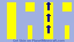 Arrows up Minecraft Skin