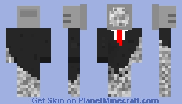 New and better Dead/Corrupted Minecraft Skin