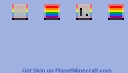 Pride Toaster Minecraft Skin