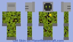 Military Old Tv Minecraft Skin