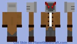 Evil Box Tv Minecraft Skin