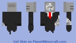 Dead/Corrupt Tv Minecraft Skin