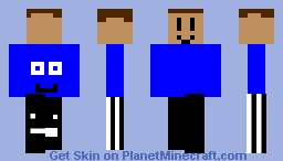 my skin updated version Minecraft Skin