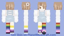 For my LGBTQ+ babies Minecraft Skin