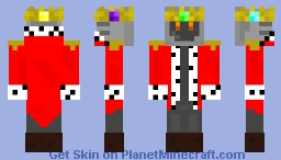 The Robot King Minecraft Skin