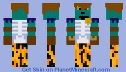 So I redid my skin Minecraft Skin