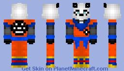 Dragon Ball Panda (Goku) Minecraft Skin