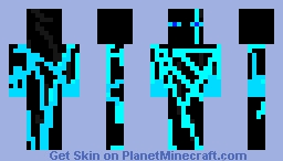 Please read description (for king Enderman the 34th's super hero contest) Minecraft Skin
