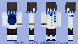 Danizura Hanozeru (Dazzle) Main Character in Dazzle Quest Minecraft Skin