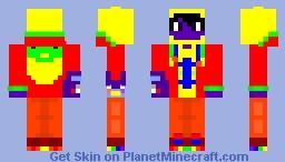 My Skin (Pride Month Palette contest) Minecraft Skin