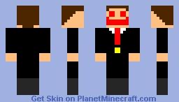 ENTITY too fancy Minecraft Skin