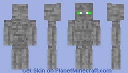 stone golem Minecraft Skin