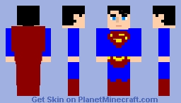 Superman Returns Minecraft Skin
