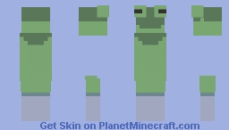 Genderless frog skins for fellow non-binaires and questioning friends Minecraft Skin