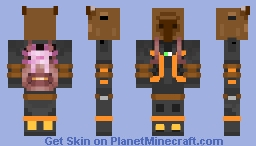 Carpincho X Ajolote Minecraft Skin