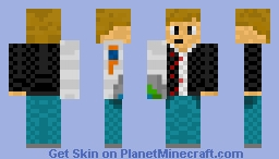 Cyborg arm (take off skin settings for right arm to see bloody arm w/ bones Minecraft Skin