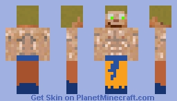 super sayan scar Minecraft Skin