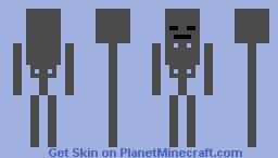 Wither Skeleton Minecraft Skin