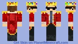 King Eret skin   Dream SMP Minecraft Skin